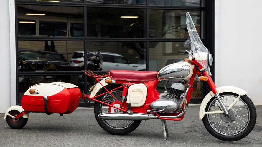 This 1966 Jawa Road King Was Ordered From A Catalog
