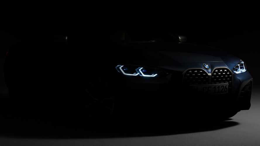 2021 BMW 4 Series Teased, Debuts June 2, Big Grille And All