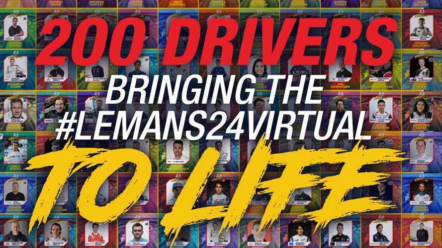 Com Barrichello, Massa, Alonso e Leclerc, lista de participantes das 24 Horas de Le Mans virtual é divulgada