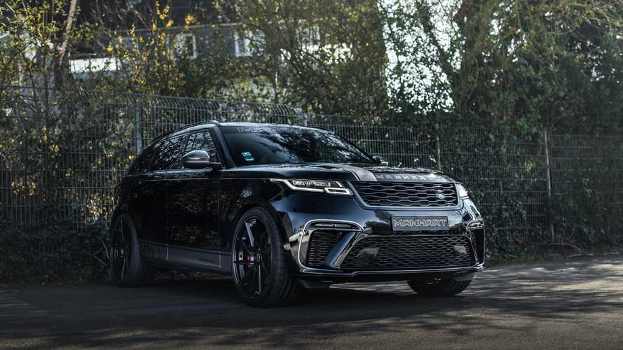 A Manhart elkészítette az eddigi legerősebb Range Rover Velart