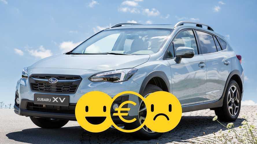 Promozione Subaru XV Pure 1.6, perché conviene e perché no