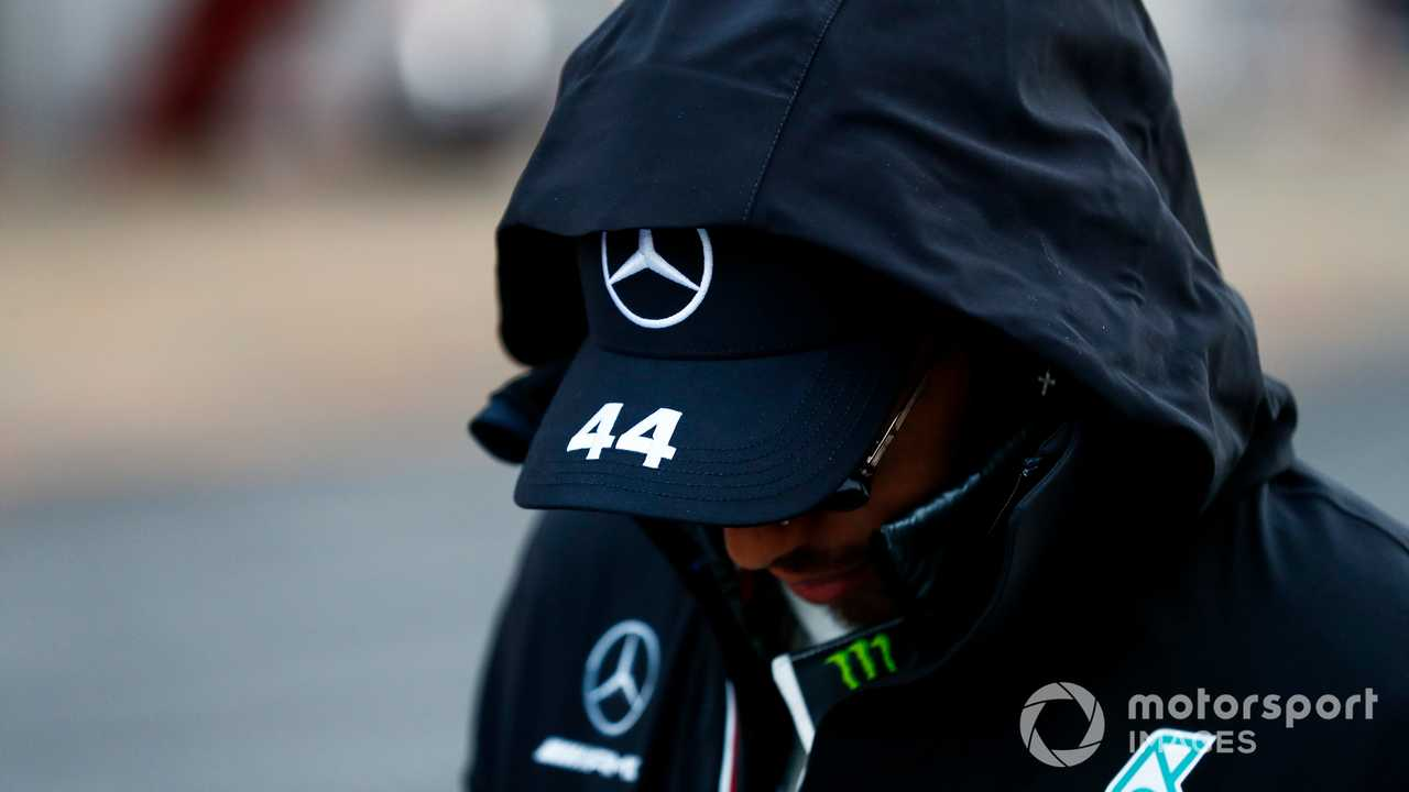 Lewis Hamilton at Barcelona 2020
