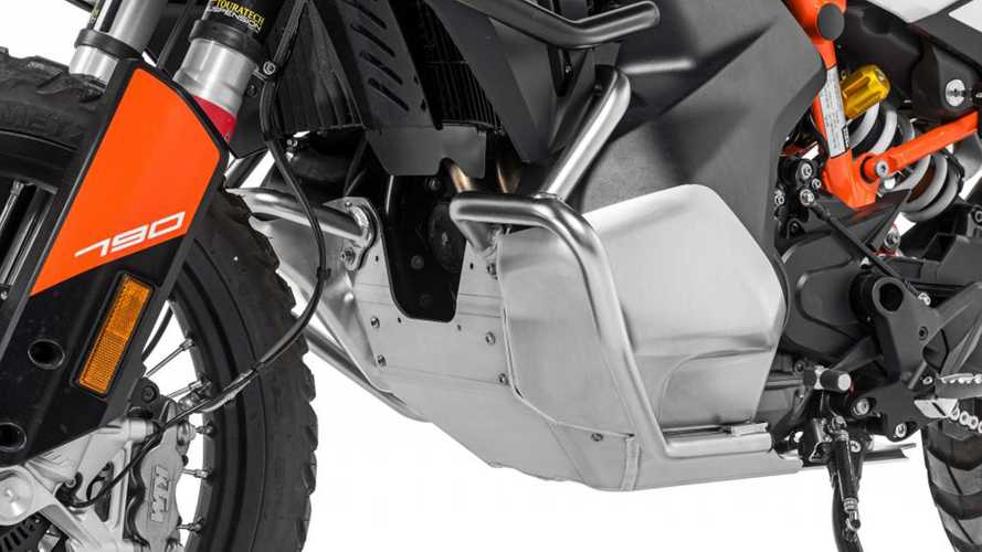 Touratech RallyeForm Skid Plate Protects The KTM 790 ADV Gas Tank, Too