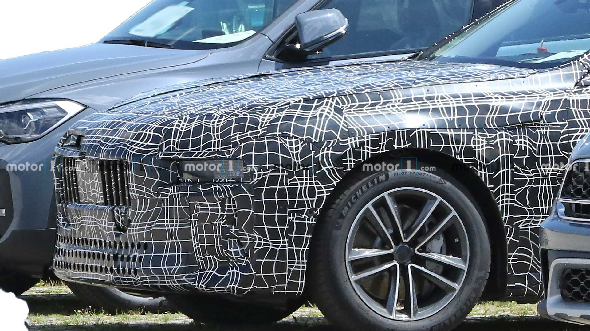 2022 - [BMW] série 7  Bmw-i7-spy-photos
