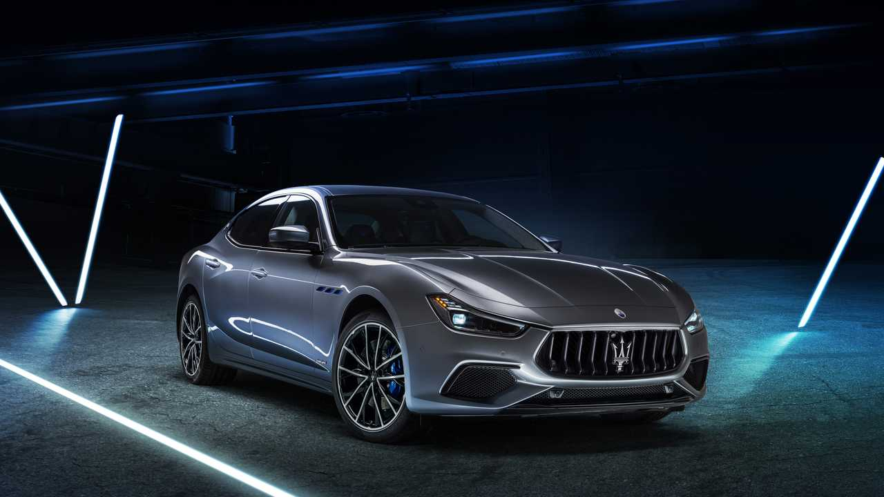 Maserati Ghibli hibrid