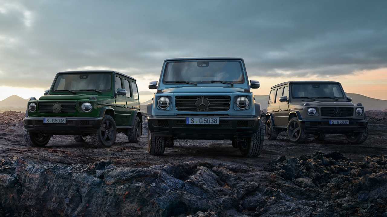Mercedes-Benz G-Class updates for Europe lead image