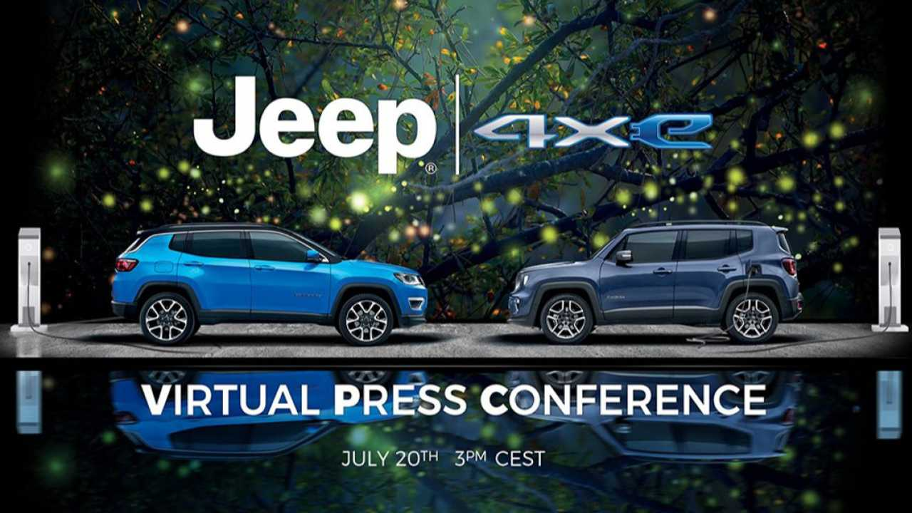 Save the date: new Jeep Renegade and Compass 4xe