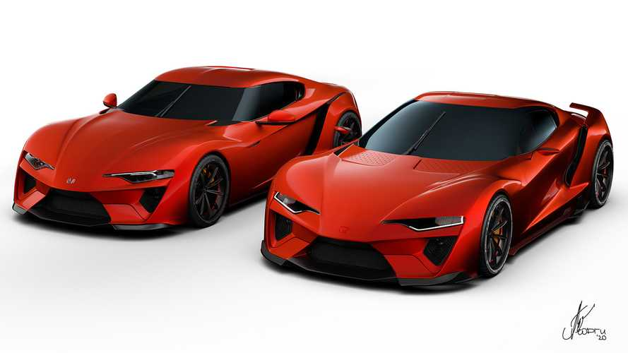 Honda Prelude, Sparrow Vision Renderings Imagine Future Supra Fighters