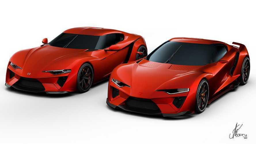 Honda Prelude, Sparrow Vision renderings imagine future Supra fighters
