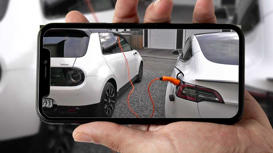 Est-il possible de recharger une voiture électrique à partir d'une autre ?
