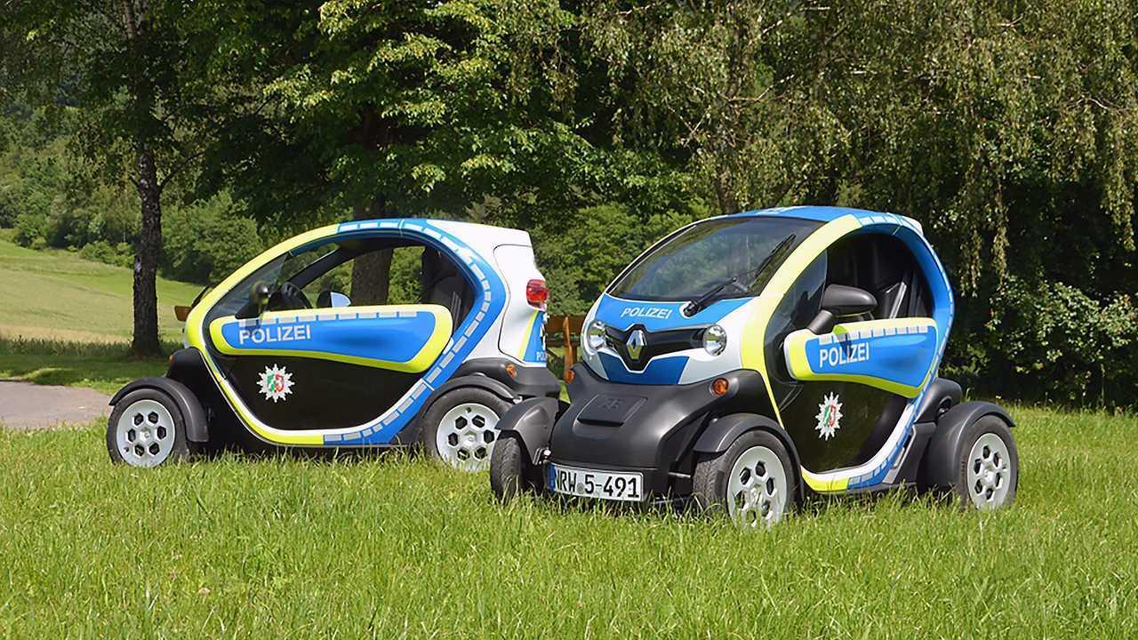 Polizeiautos in Deutschland: Renault Twizy