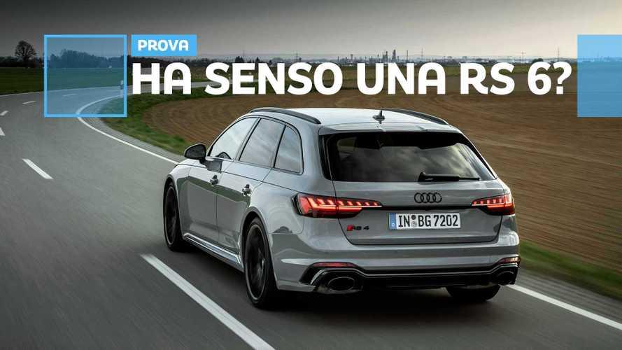 Audi RS 4 Avant, tra le curve con il restyling
