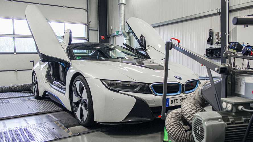 Tuner Bids Farewell To The BMW i8 With Power Lift To 409 HP