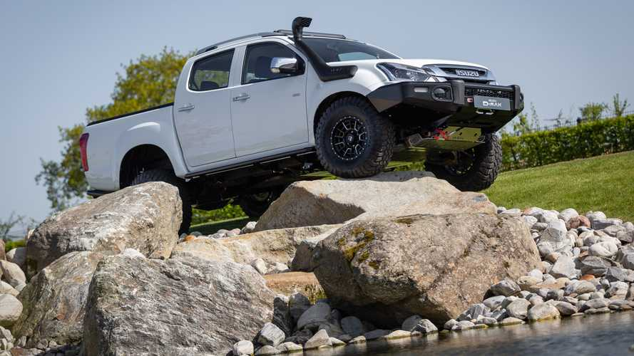 Isuzu D-Max GO2: un proyecto especial de pick-up, enfocado al off road