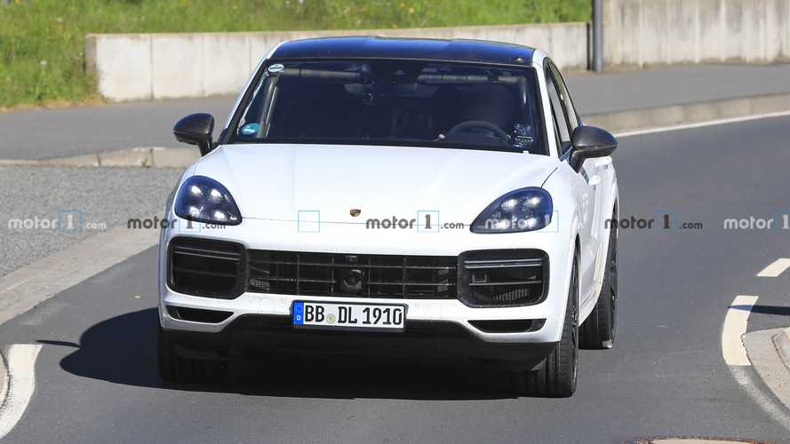 Porsche Cayenne Coupe GTS spied at the Nürburgring
