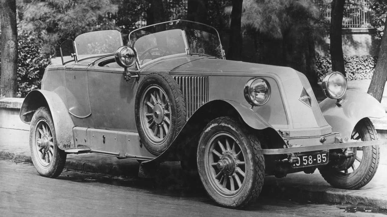 95 aniversario del rombo de Renault