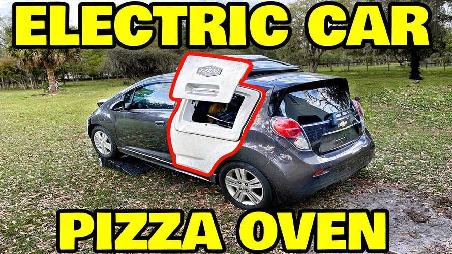 Rich Rebuilds Makes Sure His New Chevy Spark EV Can Keep Fried Chicken Warm
