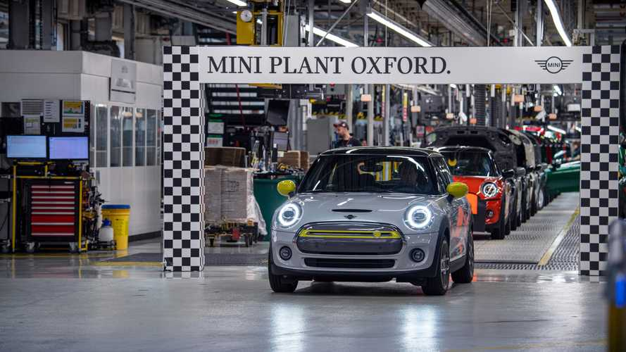 MINI Cooper SE Production Exceeds 11,000 Cumulatively