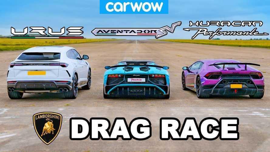 Lamborghini Urus, Huracan et Aventador : Laquelle est la plus rapide ?