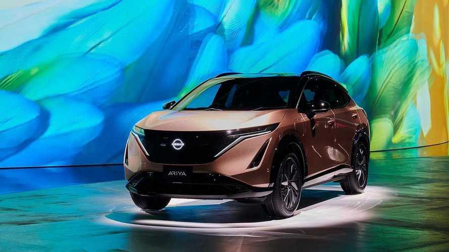 Nissan Ariya faz 1ª aparição para o público em exposição de tecnologia