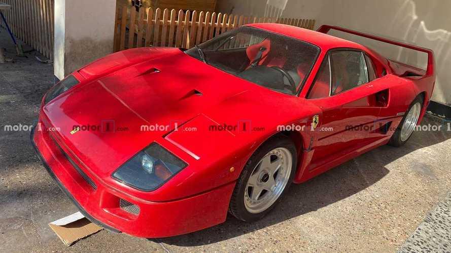L'incroyable histoire de la découverte de la Ferrari F40 d'Uday Hussein