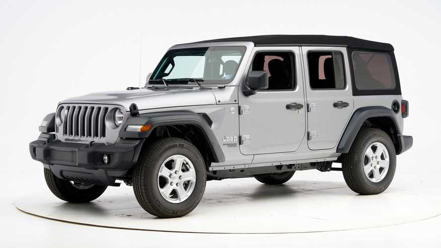 Jeep Wrangler JL crash test