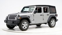 2020 Jeep Wrangler JL Crash Test