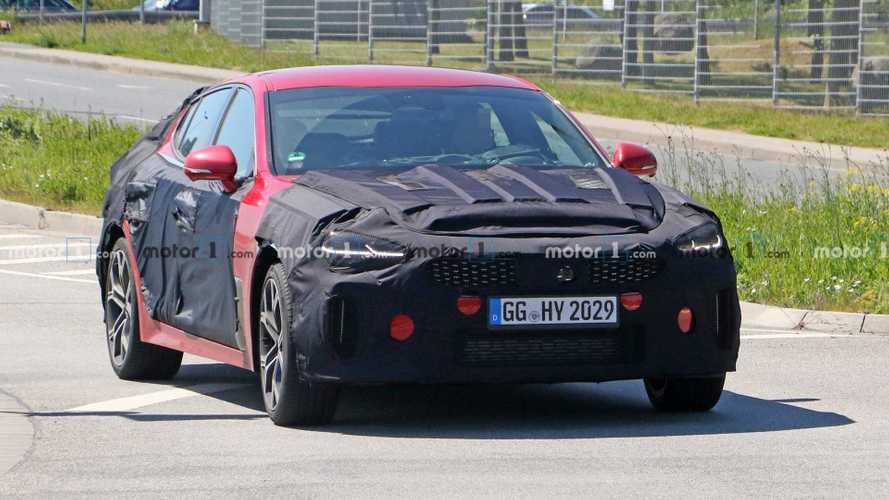 Kia Stinger GT (2021) Facelift Erlkönigbilder