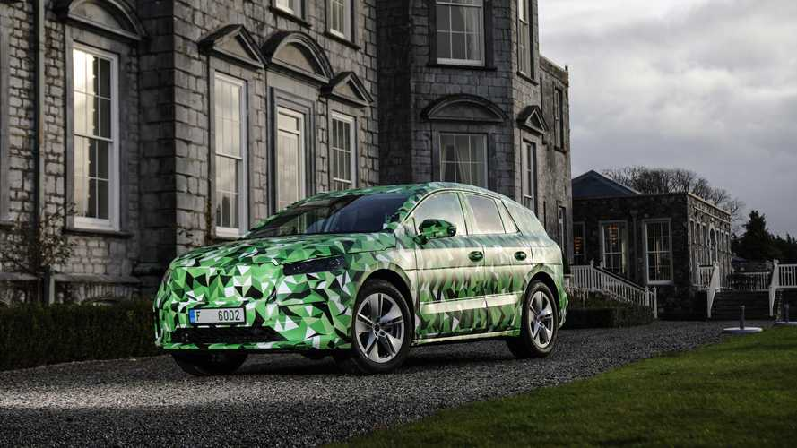 Skoda Enyaq iV Electric Crossover: Everything We Know