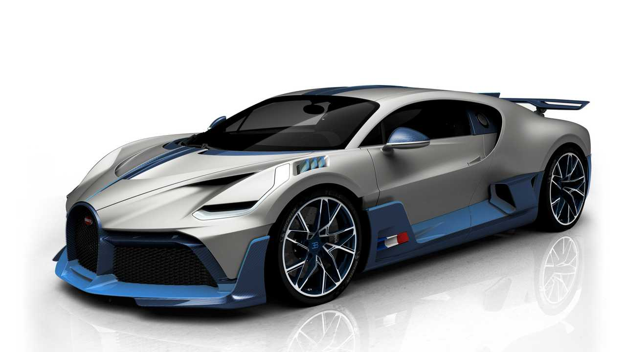 Варианты оформления Bugatti Divo