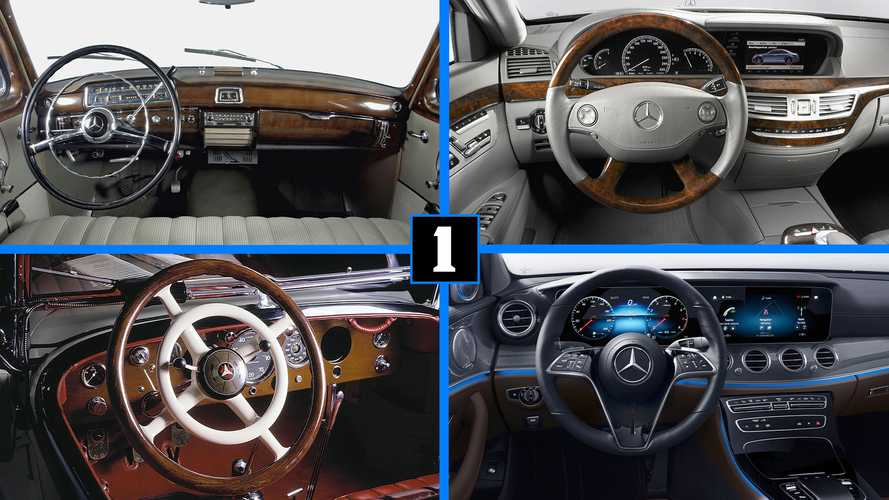 La historia de Mercedes-Benz... a través de sus volantes