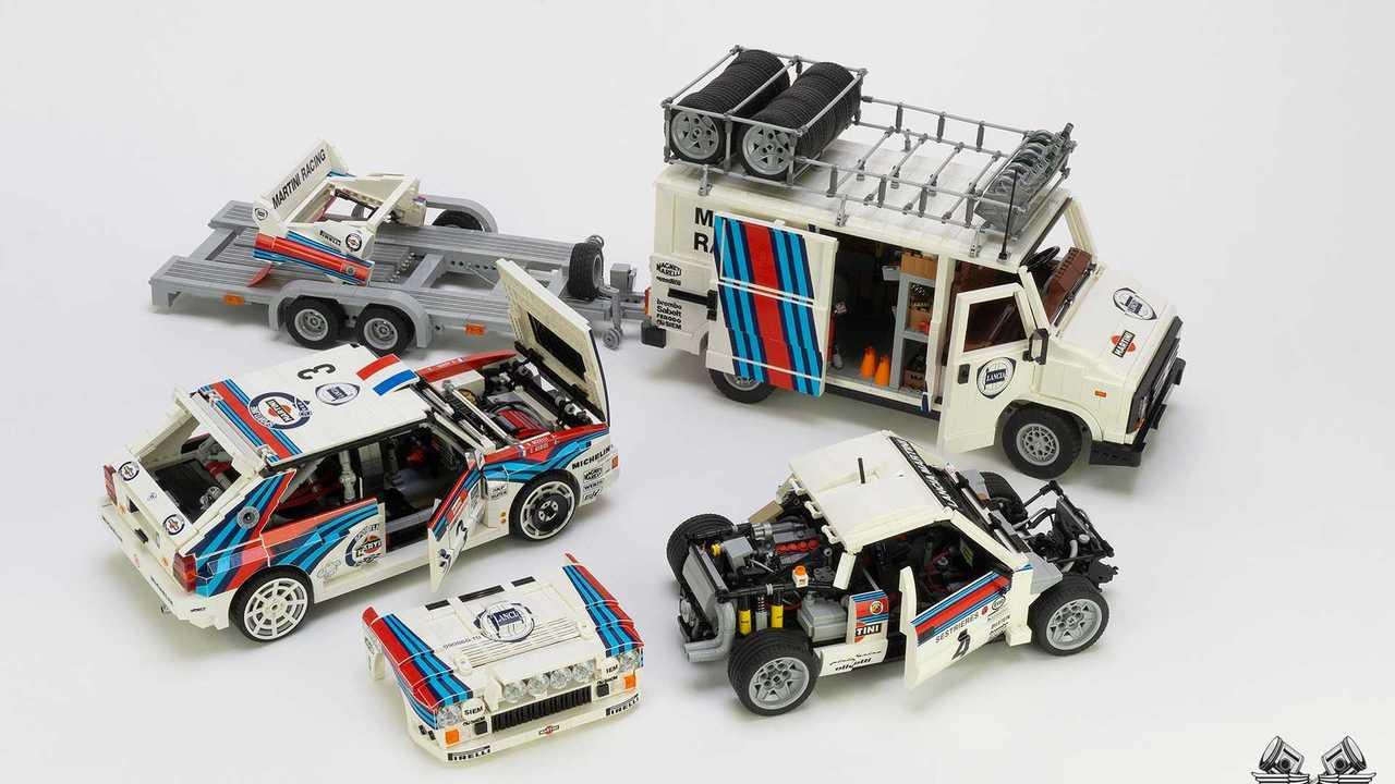 Set Lego Lancia Martini