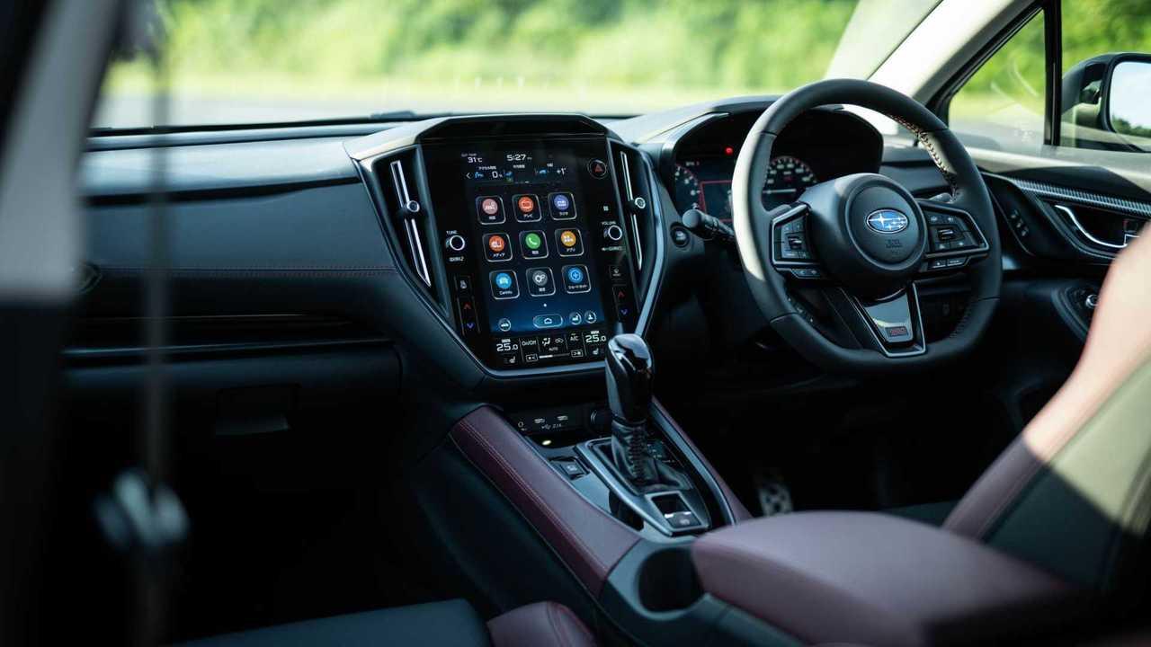 2021 Subaru Levorg versione di produzione