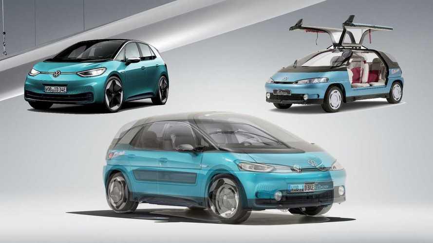 """Volkswagen Futura: ecco com'era la """"nonna"""" della ID.3 del 1989"""