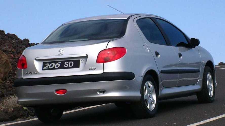 El Peugeot 206 Sedan, nuevo, por menos 10.000 euros
