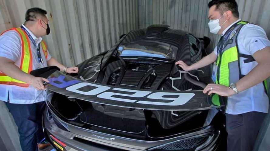 Cette McLaren 620R importée illégalement aux Philippines risque gros