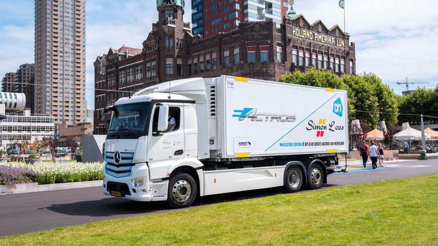 Mercedes-Benz Starts Second-Phase Of eActros Tests