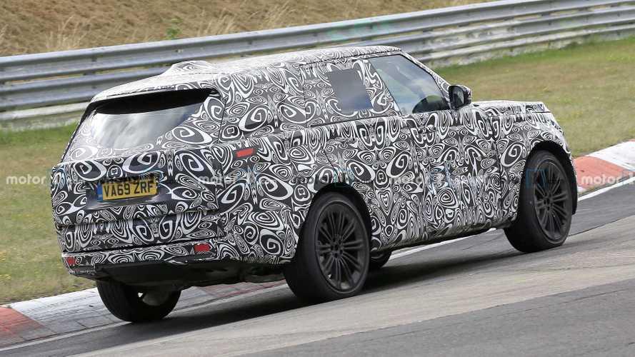 2021 Range Rover bir kez daha Nürburgring'de görüntülendi