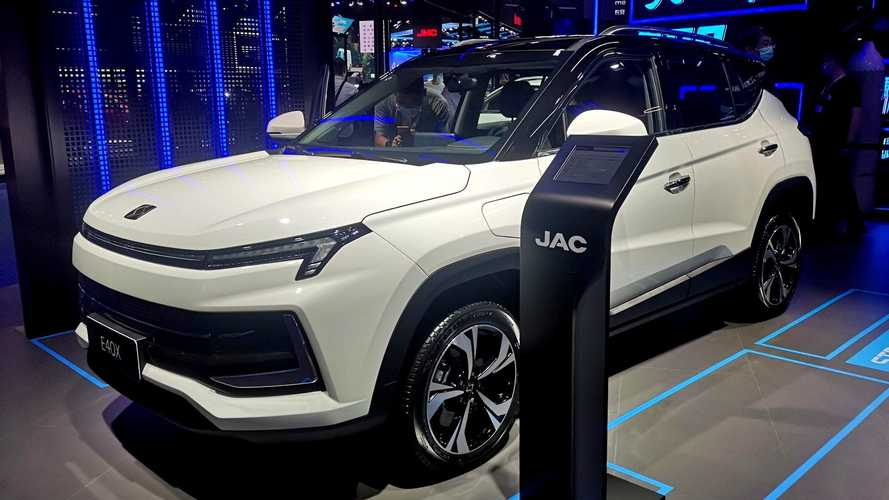 SUV elétrico da JAC-Volkswagen estreia nova linguagem de design da marca