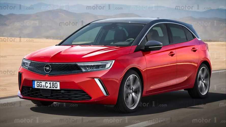 2021 Opel Astra rendering
