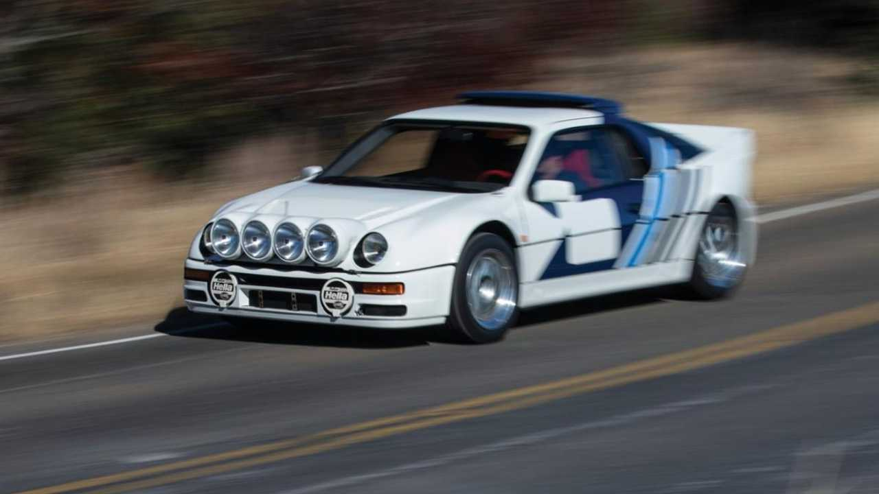 Outlawed Group B Ford RS200 Evolution heads to auction
