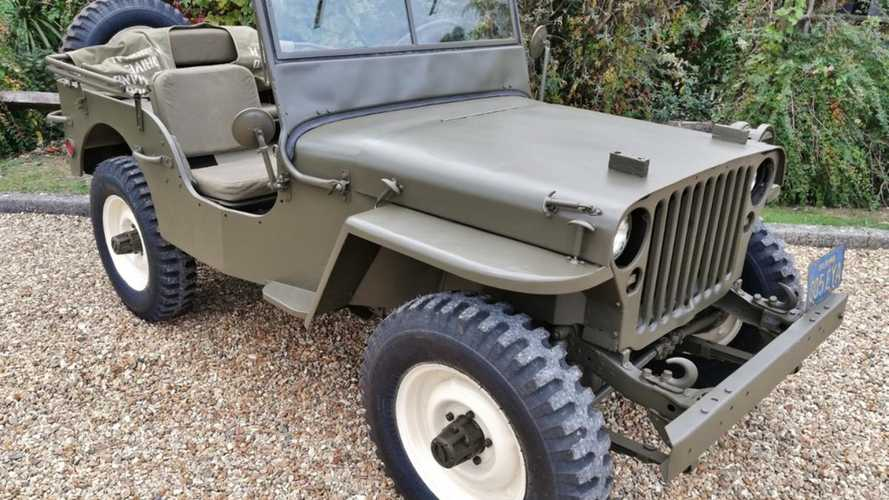 Steve McQueen's WWII Willys Jeep is worth over $100K