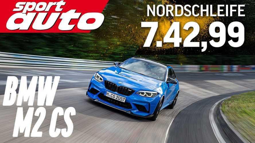 Videó: A BMW M2 CS gyorsabb a Nürburgringen, mint a Porsche 996 GT3 RS