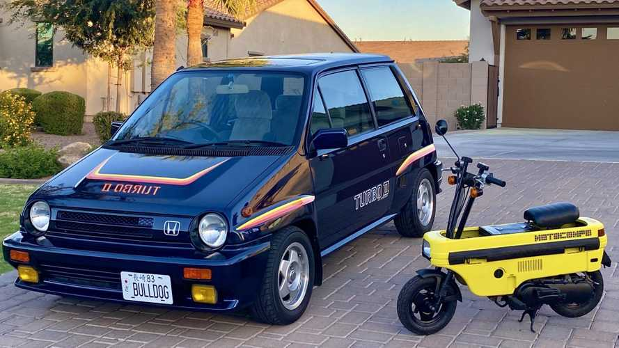 Act Fast And Get Yourself An '83 Honda City Turbo With A Motocompo
