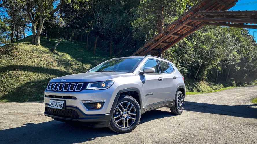 SUVs mais vendidos em 2020: Jeep Compass ultrapassa 60% de participação