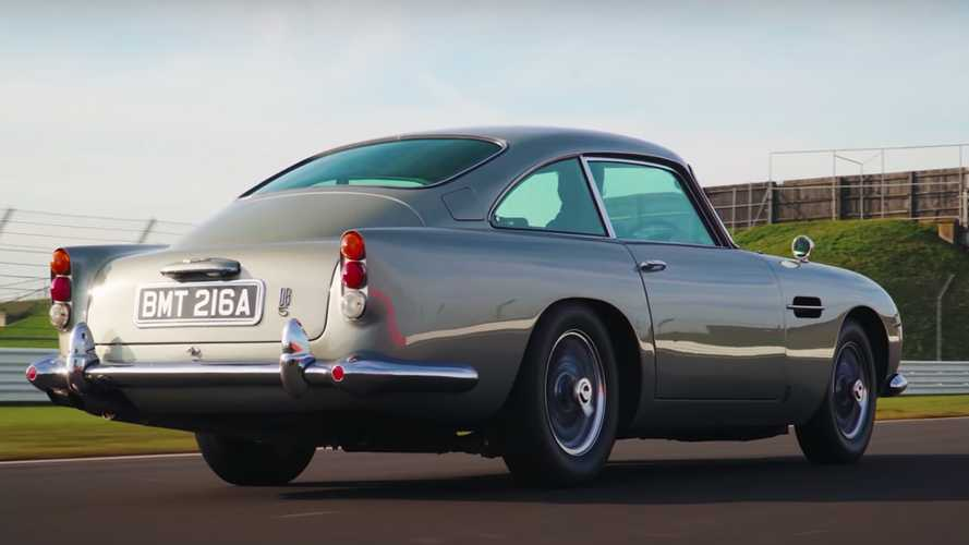 No Time To Die, la Aston Martin DB5 si racconta in un video a Silverstone