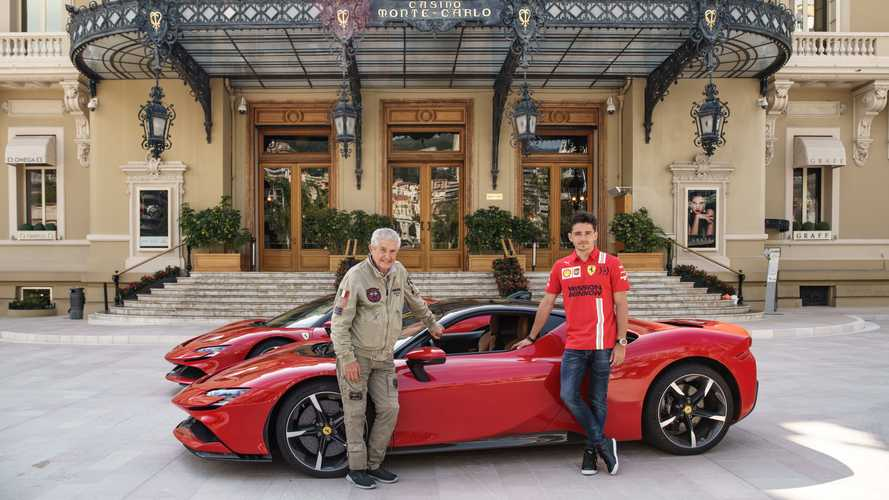 F1's Charles Leclerc drives Monaco for controversial film remake