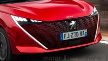 Novo Peugeot 308 2021 - Projeções