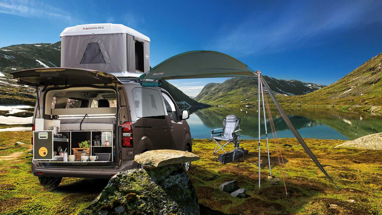 Toyota Proace City Verso Camping