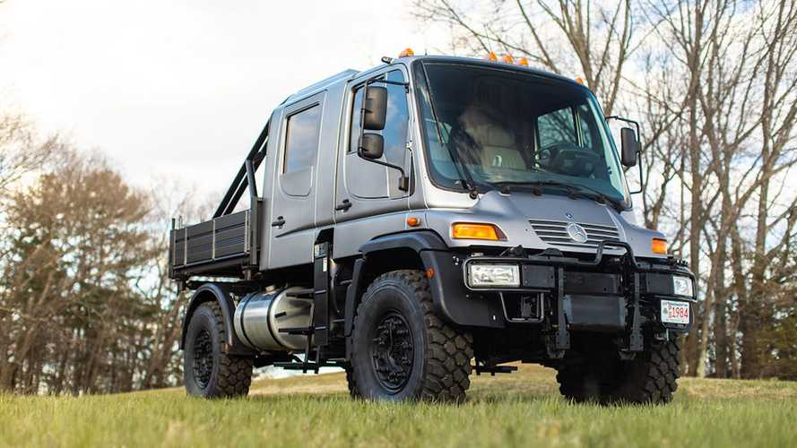Rule The Road With This Super-Rare Mercedes Unimog